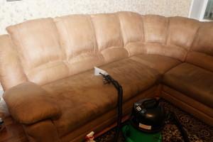 Химчистка дивана и ковра